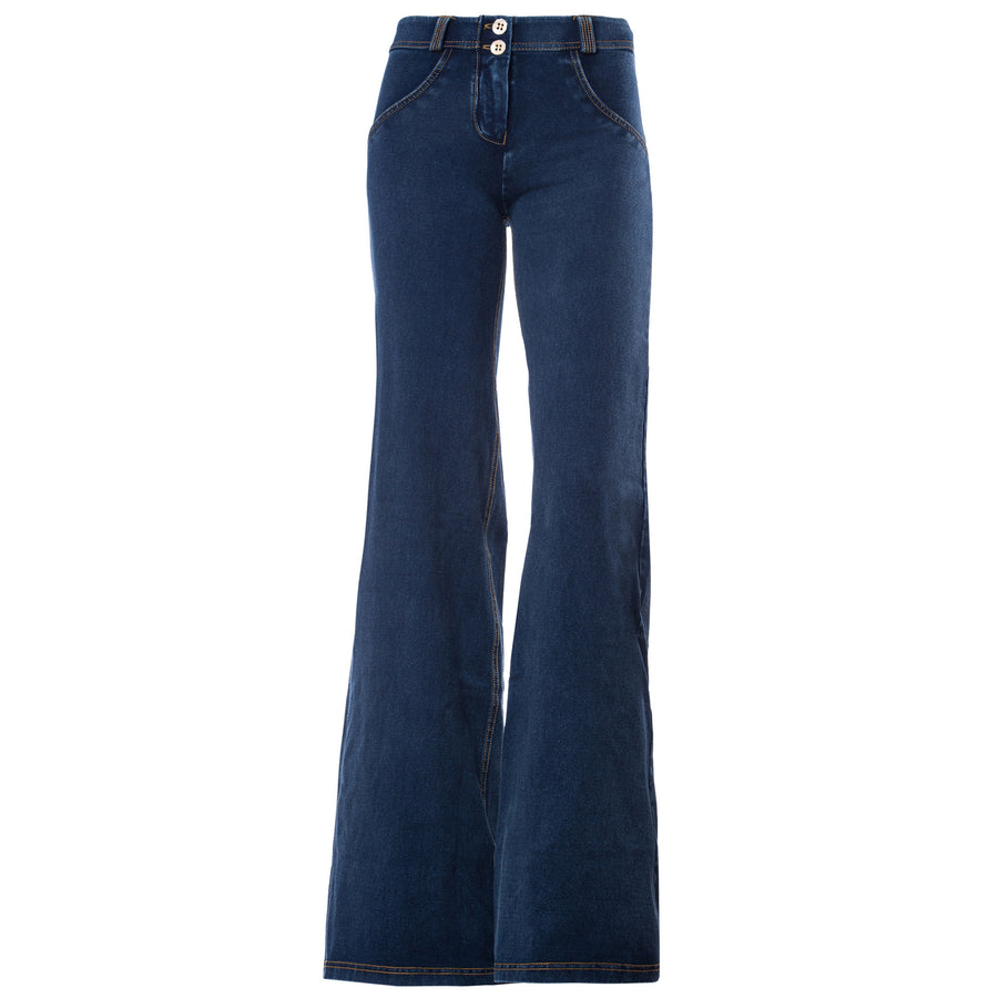 Freddy WR.UP® Denim Regular Rise Wide Flare - Dark Rinse