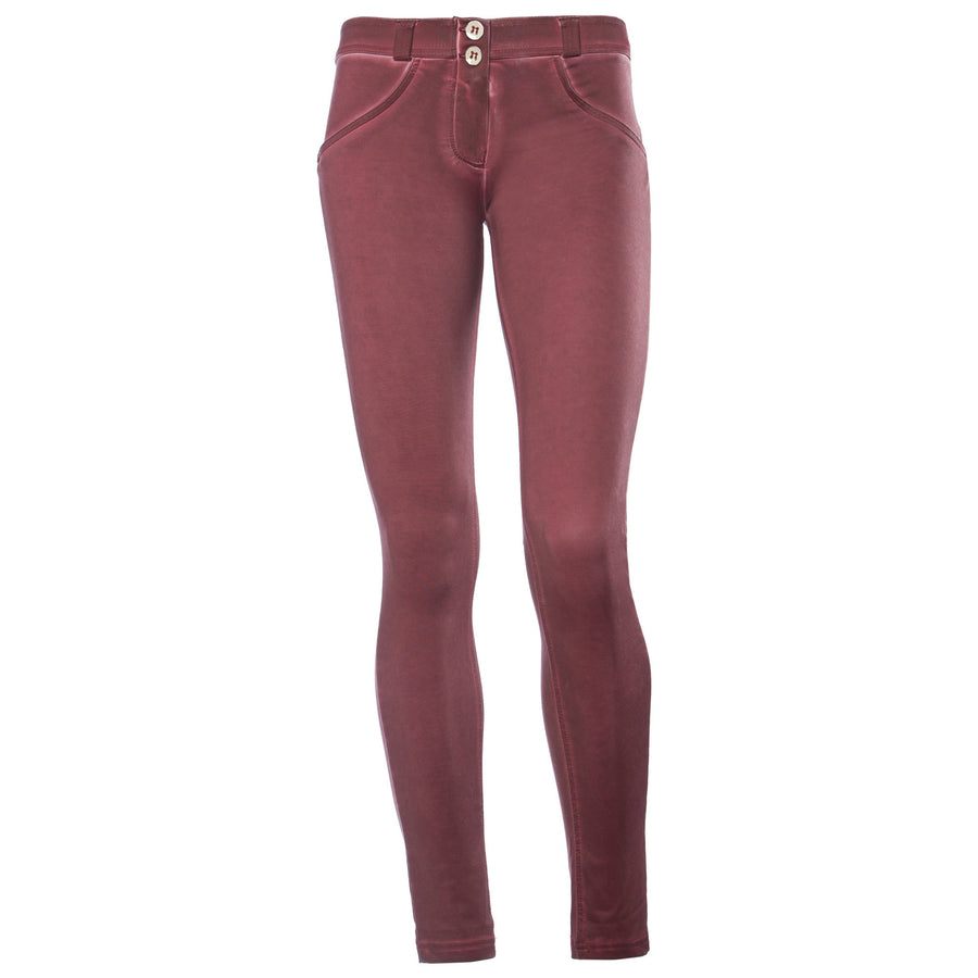 Freddy WR.UP® Garment Wash Low Rise Skinny - Deep Red