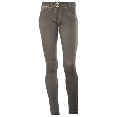 Freddy WR.UP® Mid Rise Garment Wash - Taupe