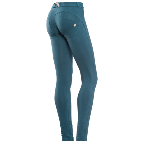FREDDY WR.UP REGULAR RISE SKINNY - Aqua