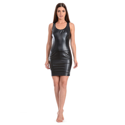 Freddy WR.UP® Eco Leather Dress - Black