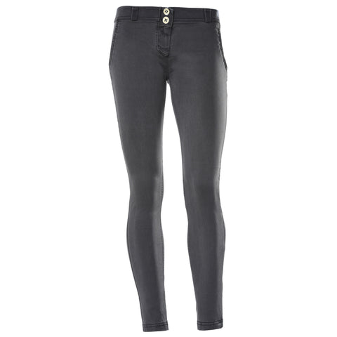 FREDDY TWILL FRONT WR.UP PANT - Black