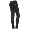 Freddy WR.UP® D.I.W.O.® PRO Fabric Regular Rise Skinny - Black