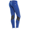 Freddy WR.UP Zip Contrast Ankle Piping Pant Skinny- Blue