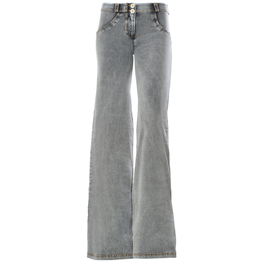 Freddy WR.UP® Denim Regular Rise Wide Flare - Grey Rinse