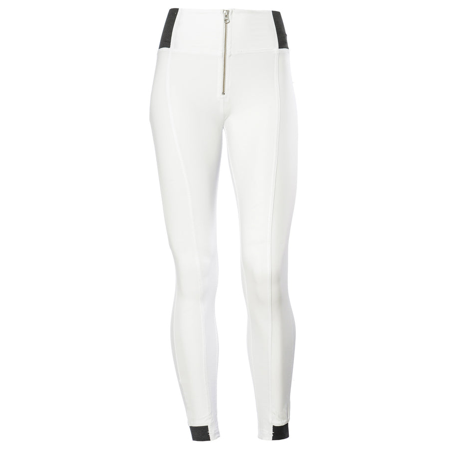 Freddy WR.UP® D.I.W.O.® PRO Fabric High Rise Skinny - White