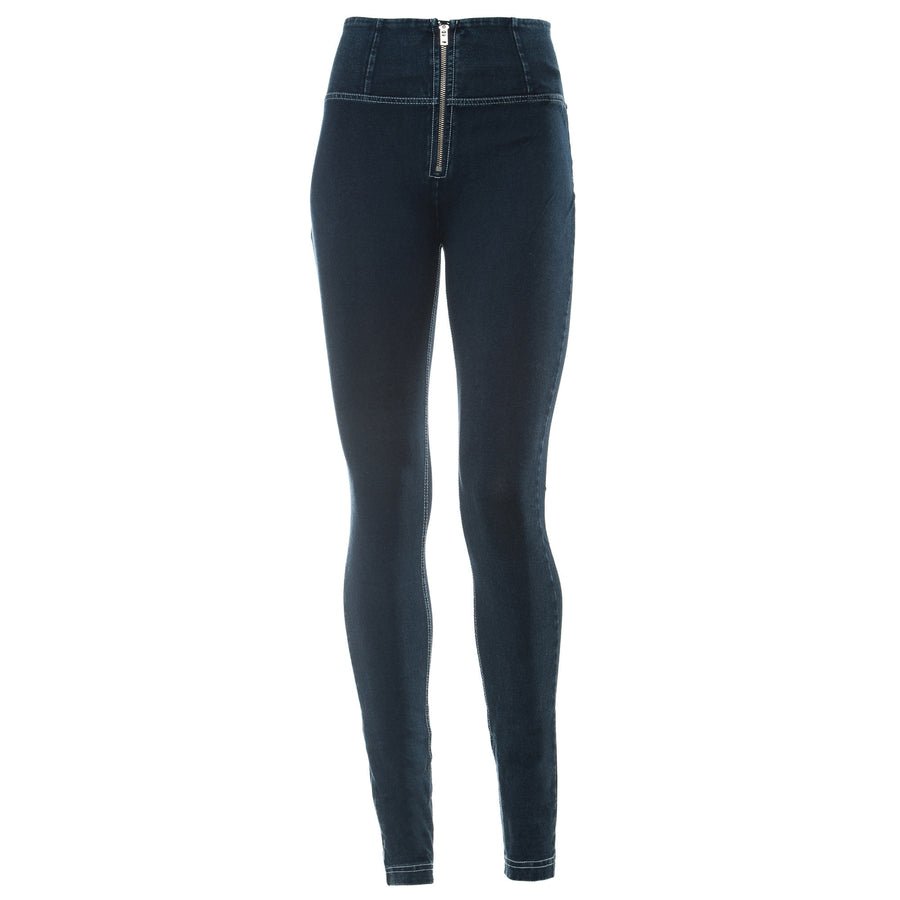Freddy WR.UP® Denim High Rise Skinny - Dark Rinse + White Stitching