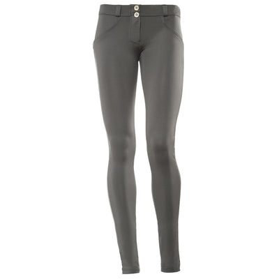 Freddy WR.UP® D.I.W.O.® Fabric Satin Finish Low Rise Skinny - Charcoal