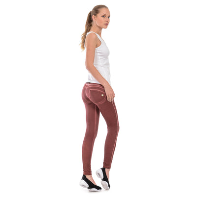 Freddy WR.UP® Garment Wash Skinny - Deep Red