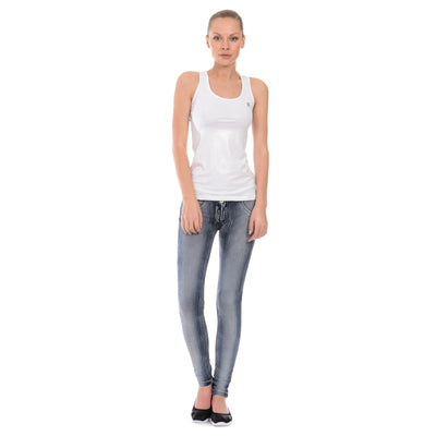 Freddy WR.UP® Brushed Denim Low Rise Skinny - Blue