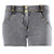 Freddy WR.UP® Shaping Denim Short - Grey Rinse