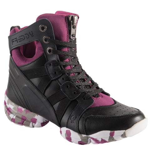 FREDDY LEATHER BOOT - Pink