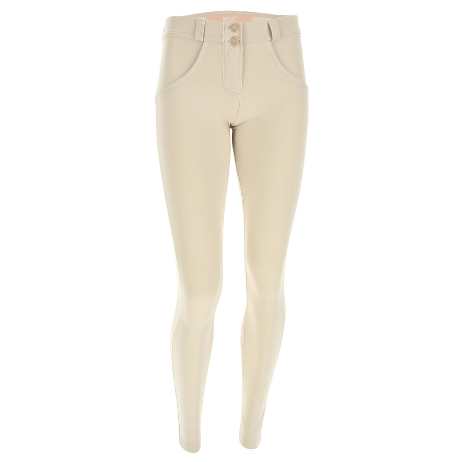 Freddy WR.UP® Regular Rise Super Skinny - Beige