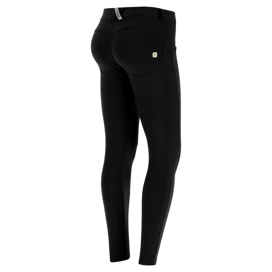 Freddy WR.UP® D.I.W.O.® PRO Fabric Regular Rise Super Skinny - Black