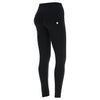 Freddy WR.UP® D.I.W.O.® PRO Fabric Tone on Tone High Rise Skinny - Black