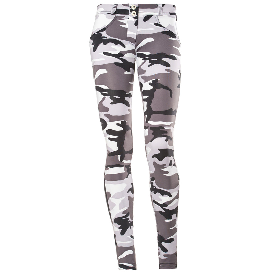Freddy WR.UP® D.I.W.O® Fabric Low Rise Skinny - Camo