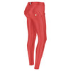 Freddy WR.UP® Eco Leather Regular Rise Super Skinny- Red
