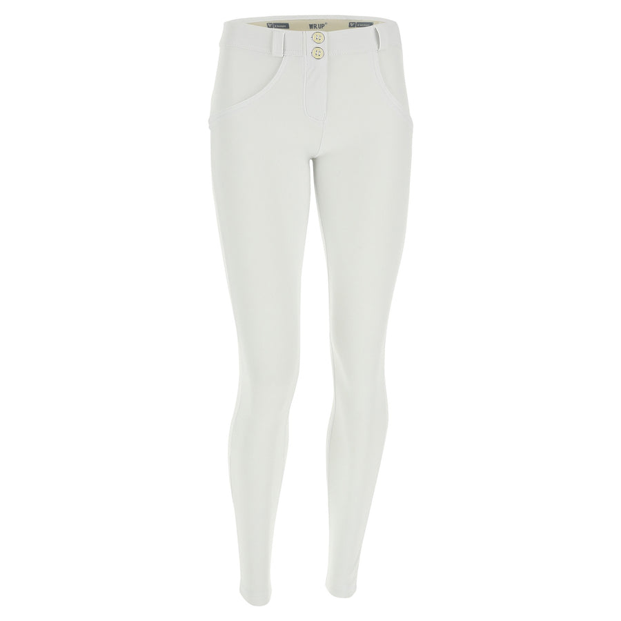 Freddy WR.UP® D.I.W.O.® PRO Fabric Regular Rise Super Skinny - White
