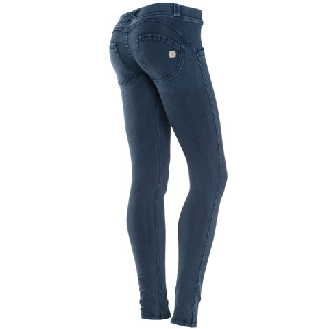 FREDDY WR.UP TONE ON TONE DENIM EFFECT - Dark Rinse