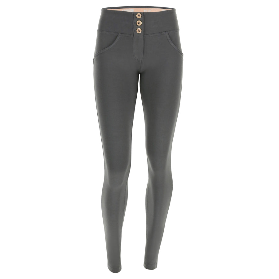 Freddy WR.UP® 3 Button Mid Rise Skinny - Dark Grey
