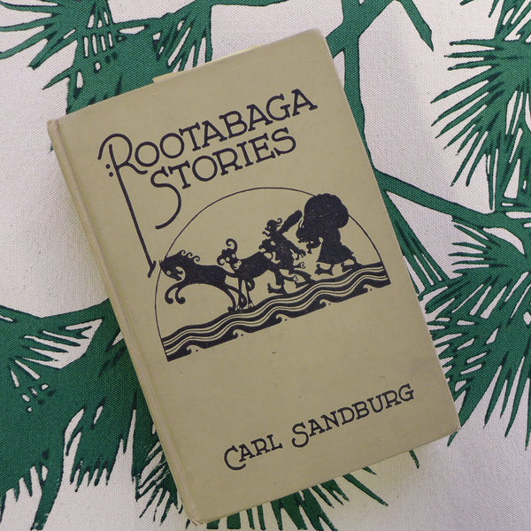 Dermond Peterson and Carl Sandburg. Rootabaga Stories. Inspiration. Pine Bough Print.