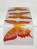Dermond Peterson Butterfly Table Runner in Clementine