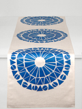 Dermond Peterson Cirkel Table Runner in Blue