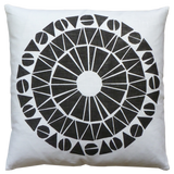 Dermond Peterson Cirkel Pillow in Black