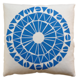 Dermond Peterson Cirkel Pillow in Blue