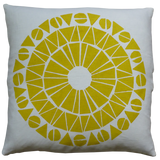 Dermond Peterson Cirkel Pillow in Mustard