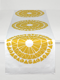 Dermond Peterson Cirkel Table Runner in Mustard
