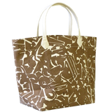 Dermond Peterson Collage Big Bag Brown