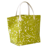 Dermond Peterson Collage Big Bag Chartreuse