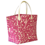 Dermond Peterson Collage Big Bag Fuchsia