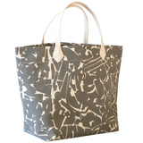 Dermond Peterson Collage Big Bag Gray