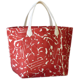 Dermond Peterson Collage Big Bag Red