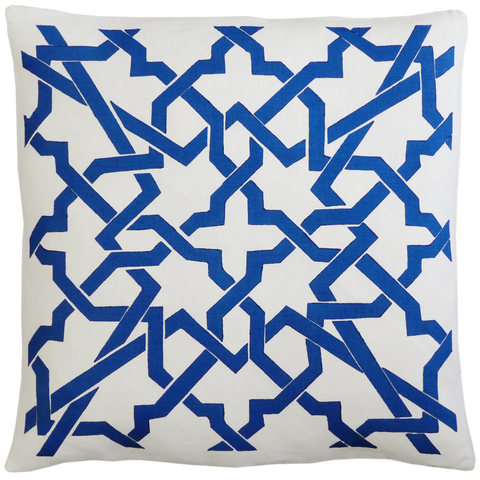 Dermond Peterson Cordoba Pillow Blue