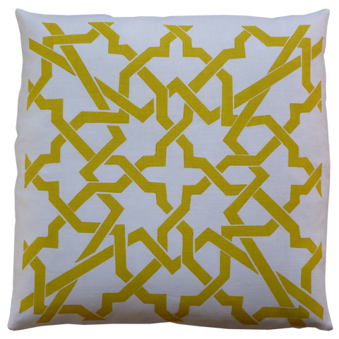 Dermond Peterson Cordoba Pillow Yellow