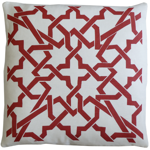 Dermond Peterson Cordoba Pillow Red