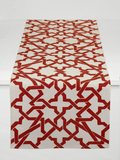 Dermond Peterson Cordoba Table Runner Red