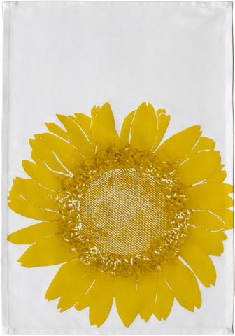 Dermond Peterson Daisy Kitchen Towel Citrine