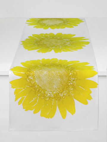 Dermond Peterson Daisy Table Runner Citrine