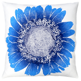 Dermond Peterson Daisy Pillow Indigo