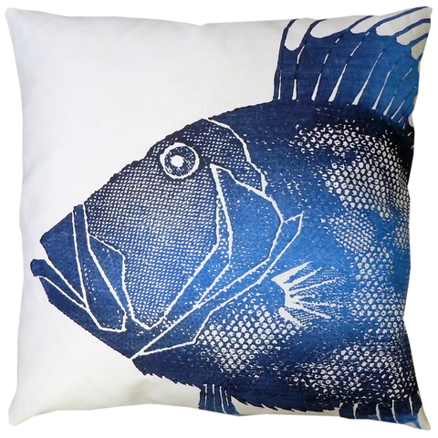 Dermond Peterson Dory Pillow Indigo