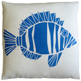 Dermond Peterson Fisk Pillow Blue