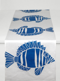 Dermond Peterson Fisk Table Runner Blue