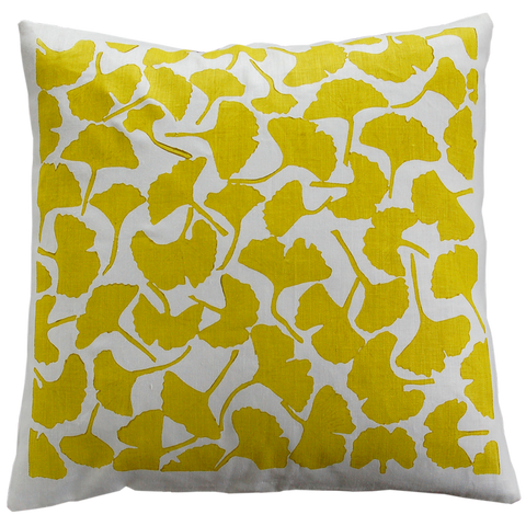 Dermond Peterson Ginkgo Pillow
