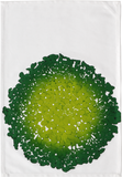 Dermond Peterson Hydrangea Kitchen Towel Lime