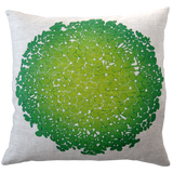 Dermond Peterson Hydrangea Pillow Lime
