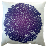 Dermond Peterson Hydrangea Pillow Violet